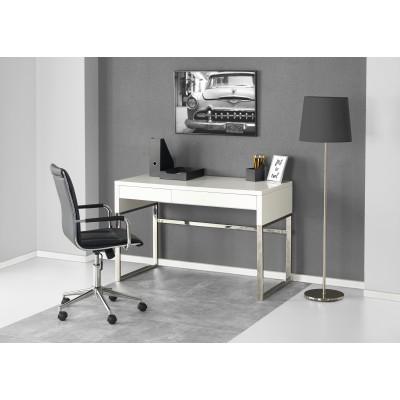 B32 biurko biały-chrom (2p1szt)