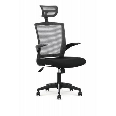 VALOR fotel pracowniczy czarno / popielaty
