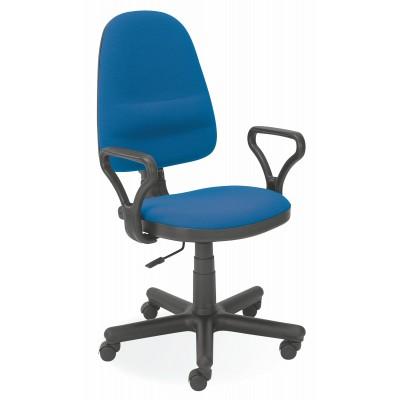 BRAVO krzesło biurowe C-6 (1p1szt) niebieski