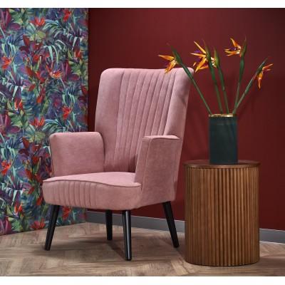 DELGADO fotel wypoczynkowy różowy