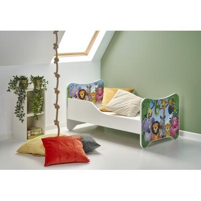 HAPPY JUNGLE łóżko wielobarwny (1p1szt)
