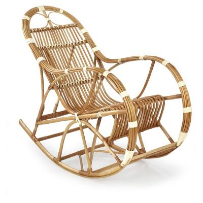 ROCCO fotel wiklinowy bujany, kolor: naturalny (1p1szt)