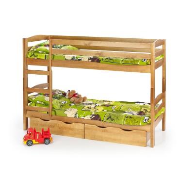 SAM - szuflady do łóżka piętrowego SAM - olcha - wymiary 885x205 mm